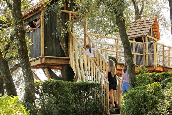 cabanes Jardins suspendus de Marqueyssac Vézac Perigord Dordogne