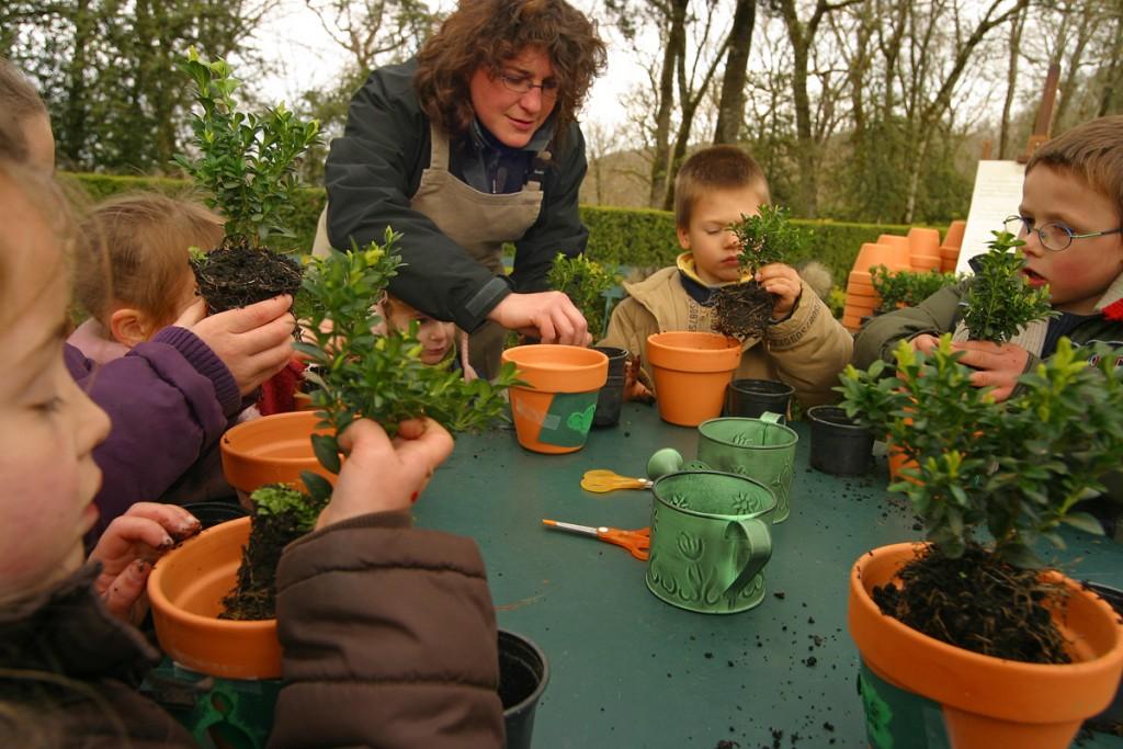 Ateliers curieux de nature Jardins suspendus de Marqueyssac Vézac Perigord Dordogne