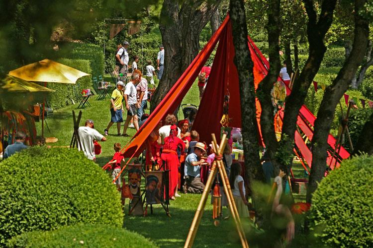 Fête des jardins Jardins suspendus de Marqueyssac Vézac Perigord Dordogne