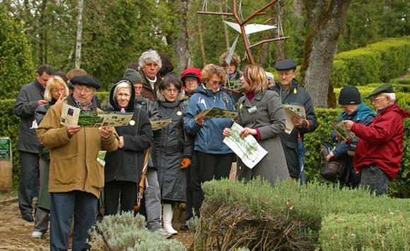 visite groupe Jardins suspendus de Marqueyssac Vézac Perigord Dordogne