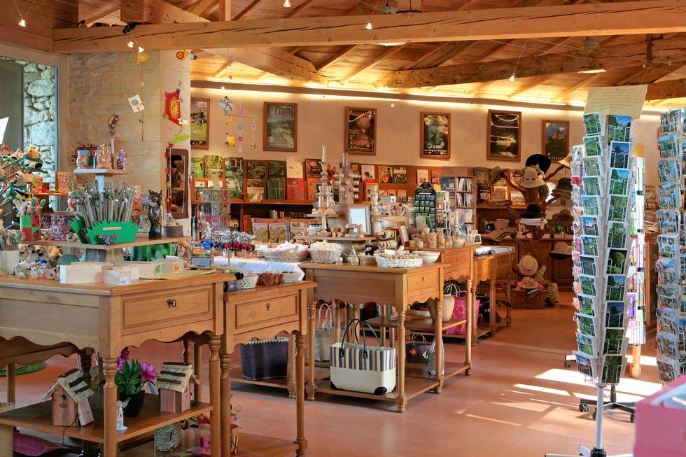 Boutique Jardins suspendus de Marqueyssac Vézac Perigord Dordogne