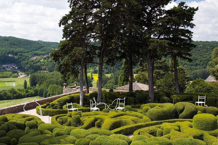 Exposition Art Jardins suspendus de Marqueyssac Vézac Perigord Dordogne