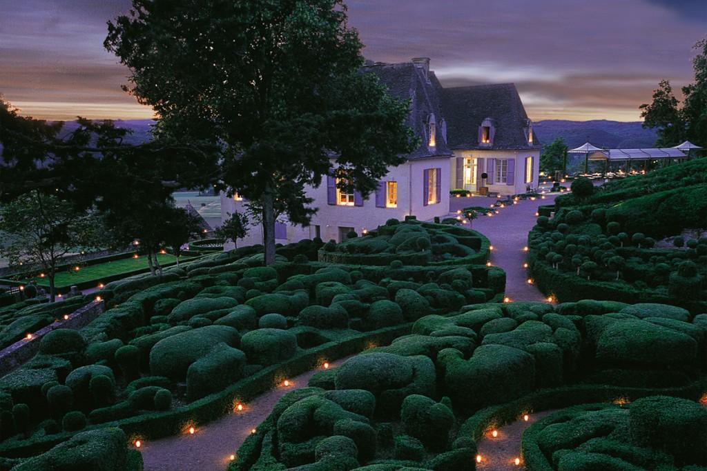 Soirées Chandelles Jardins suspendus de Marqueyssac Vézac Perigord Dordogne