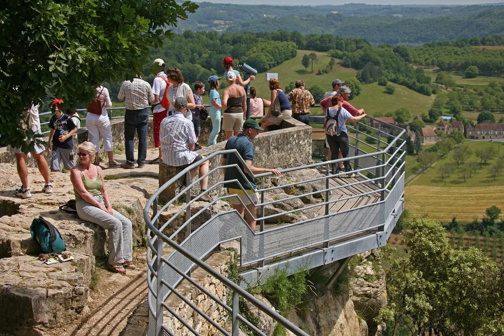 Belvédère Jardins suspendus de Marqueyssac Vézac Perigord Dordogne