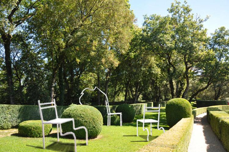 Exposition Jardins suspendus de Marqueyssac Vézac Perigord Dordogne