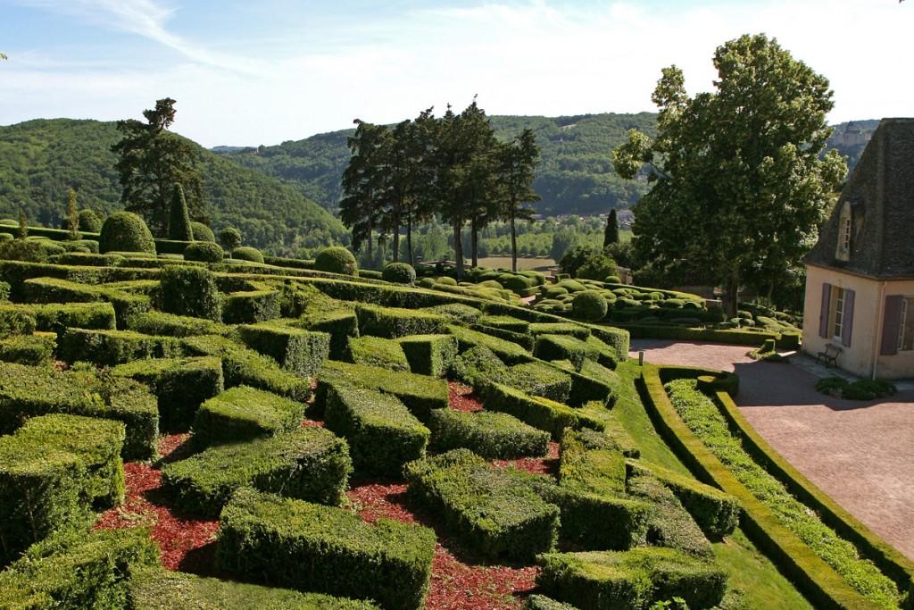 Chaos de buis Jardins suspendus de Marqueyssac Vézac Perigord Dordogne